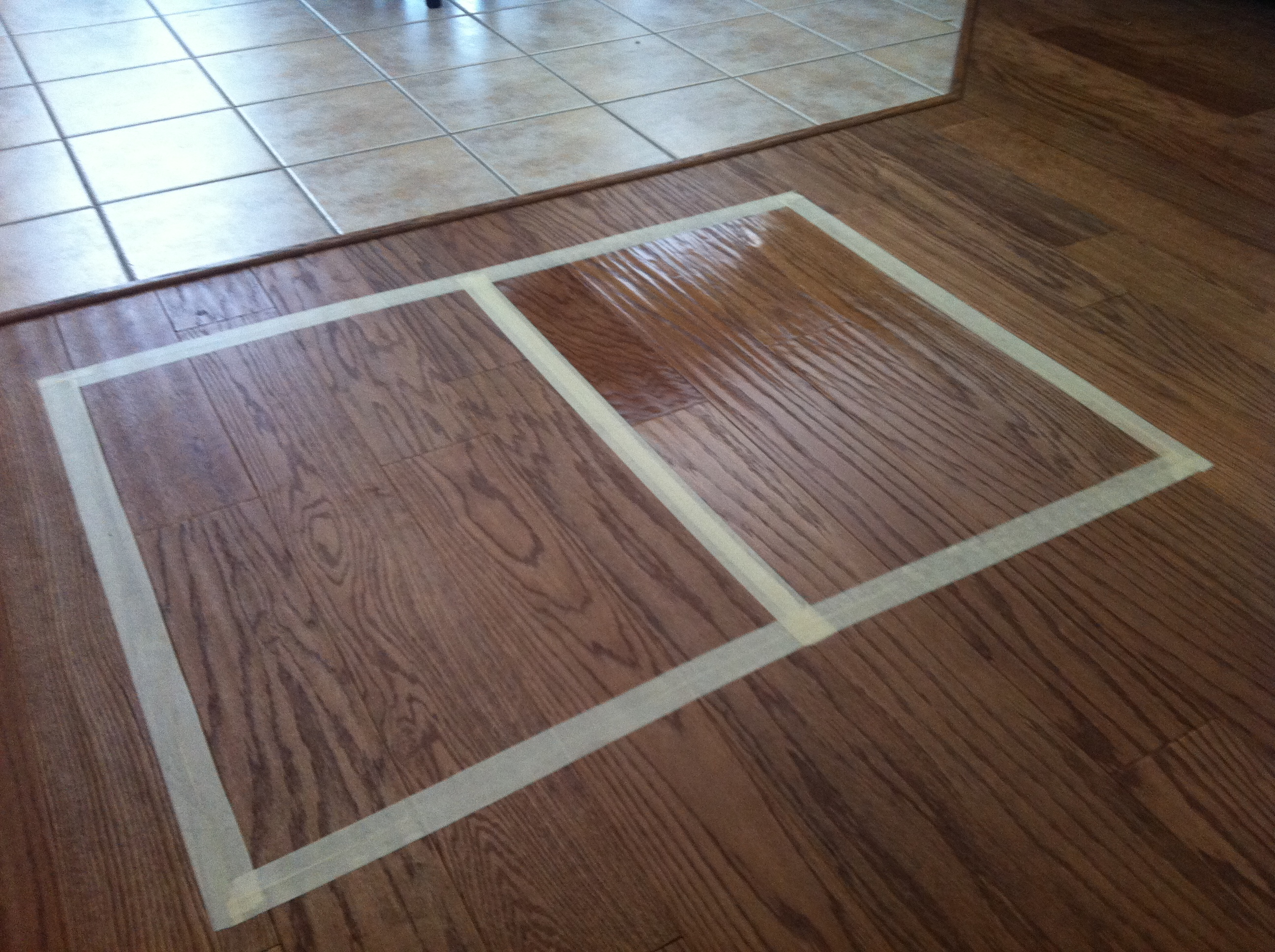 Hardwood floors clean rejuvenate before after Rejuvenate wood floor