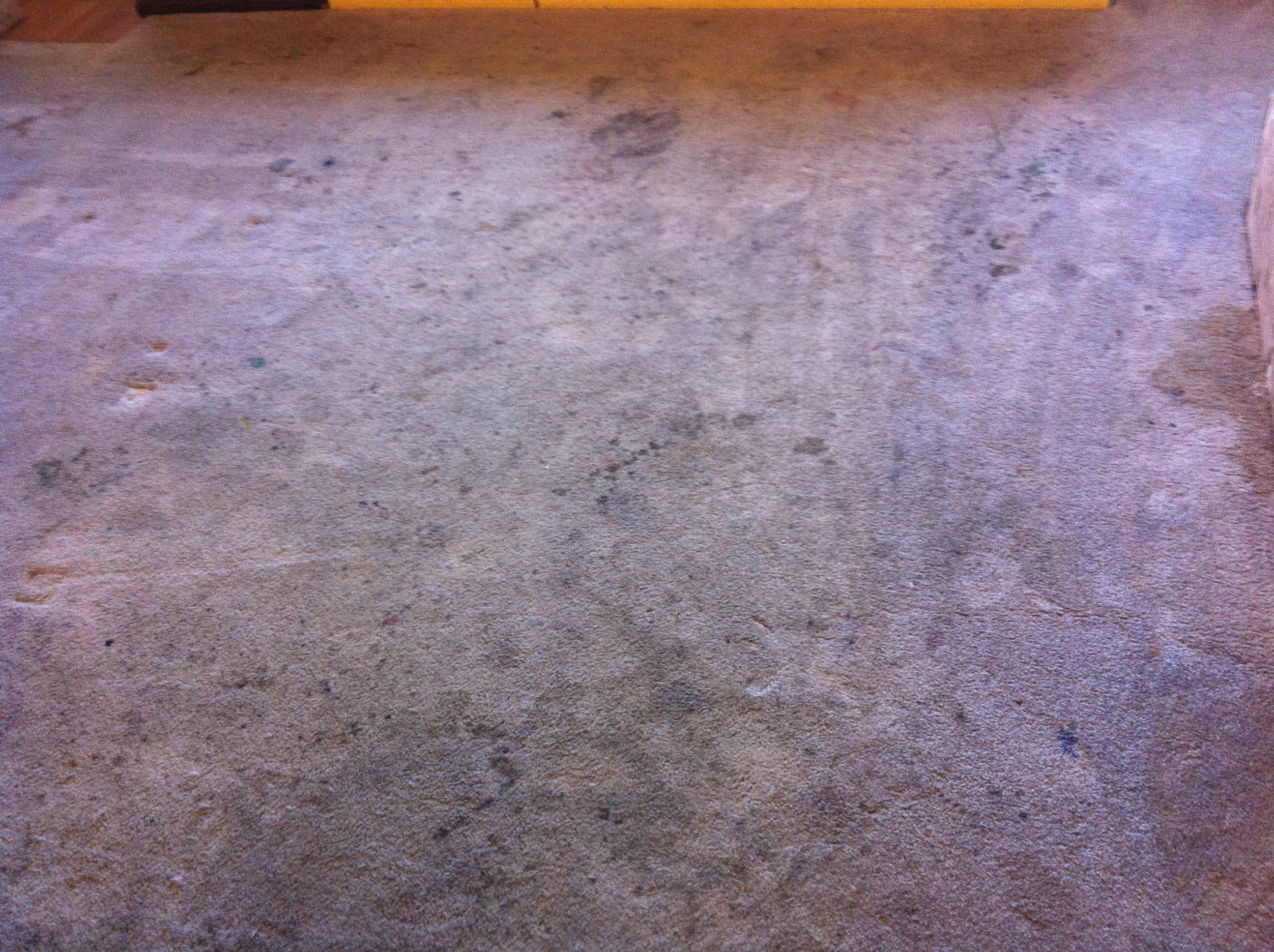 how to clean dirt stains on polyester