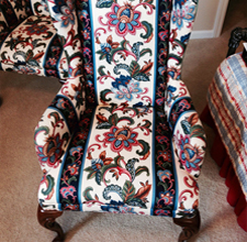 Wingback Chair Cleaning