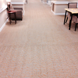 Retirement Center Carpet Cleaning Job