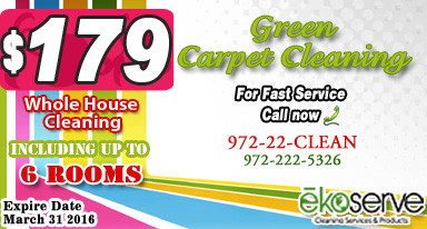 Cleaning Services Plano Texas ēkoserve