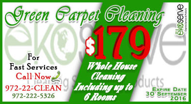 Carpet Cleaning Services In Plano Texas